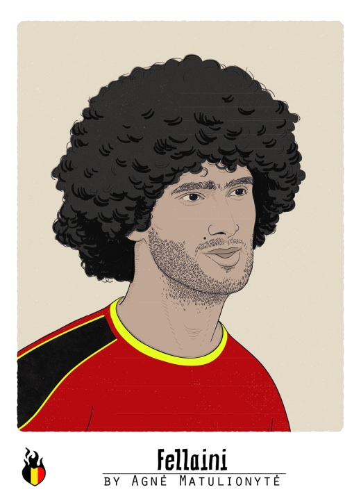 Fellaini Sammelbild WM 2014