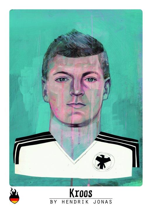 Kroos Sticker WM 2014