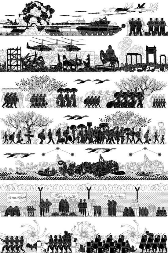 Ai Weiwei Odyssey Print