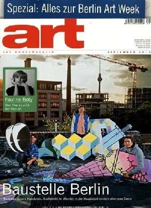 Art September Ausgabe