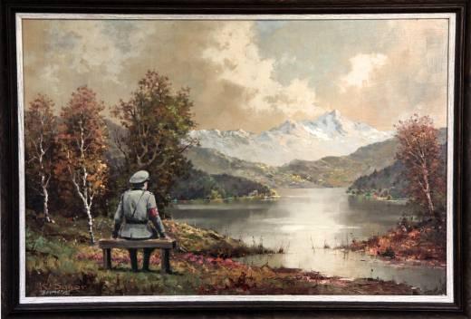 Banksy Nazi Landschaftsbild
