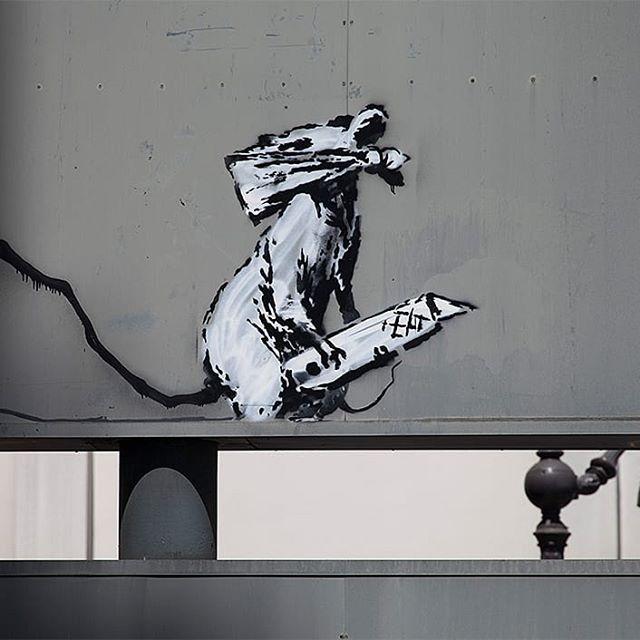 Banksy Werk in Paris gestohlen