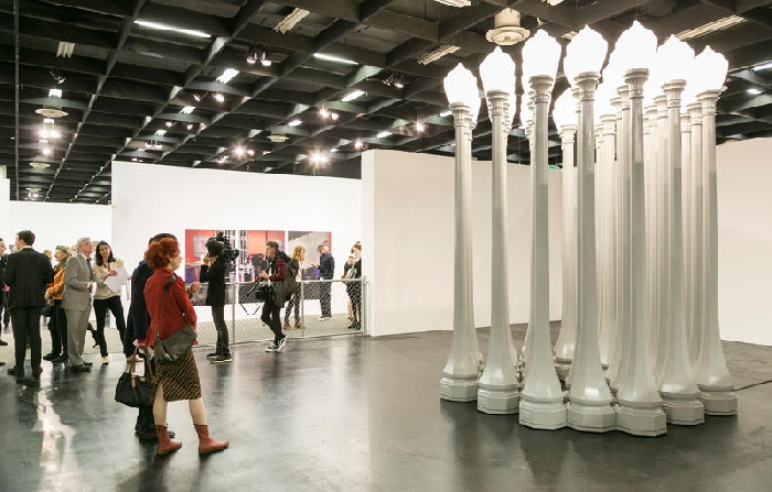 Chris Burden Stand GAGOSIAN Art Cologne 2017