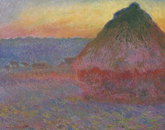 Claude Monet Meule