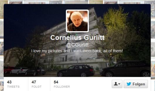 Cornelius Gurlitt Twitter und Tobias Meyer
