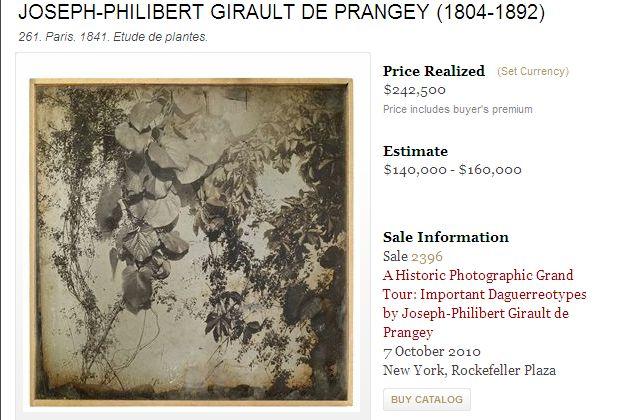Daguerreotypie Girault de Prangey