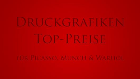 Druckgrafiken Preise