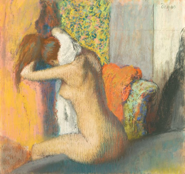 Edgar Degas Nach dem Bad