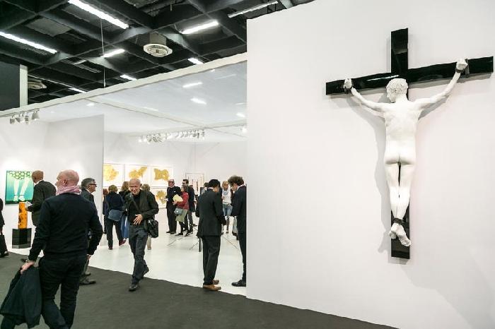 Elmgreen & Dragset Art Cologne 2017