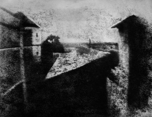 das erste und älteste Foto der Welt