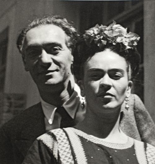 Nickolas Muray und Frida Kahlo