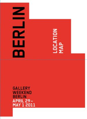 Gallery Weekend Berlin Karte