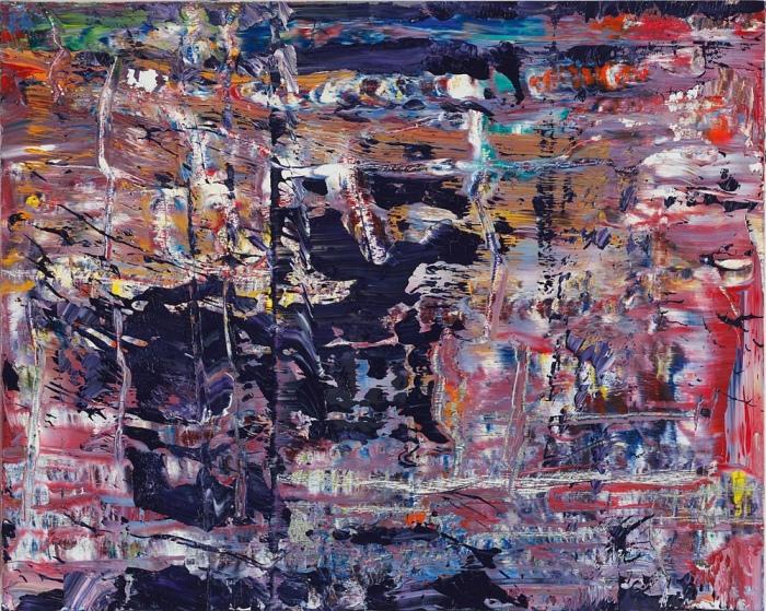 Gerhard Richter Neue Bilder abstrakt