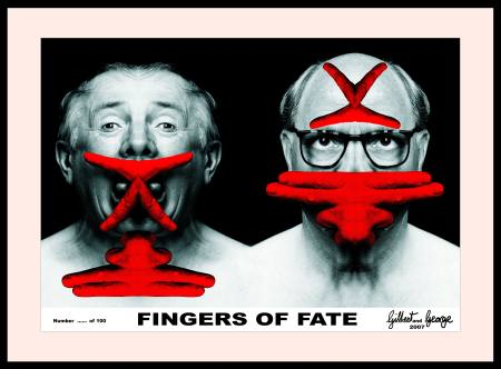 gilbert george fingers of fate