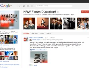 Google-Pages NRW-Forum