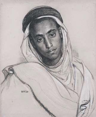 Gustave GUILLAUMET arabischer Junge