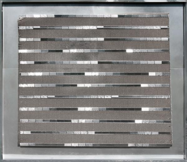 Heinz Mack Aluminium Relief