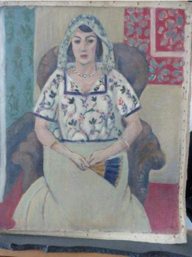 Henri Matisse Sitzende Frau