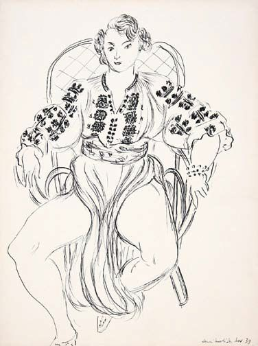 Henri Matisse Tamara