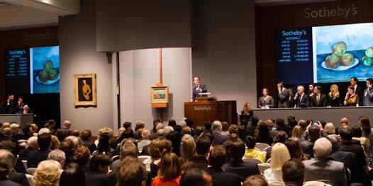 Paul Cézanne teuerstes Werk der Impressionisten Auktion