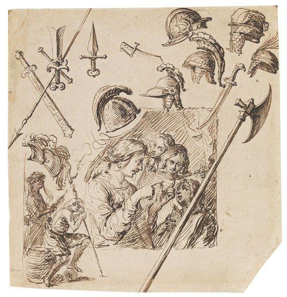 Jacques de Gheyn II Studienblatt