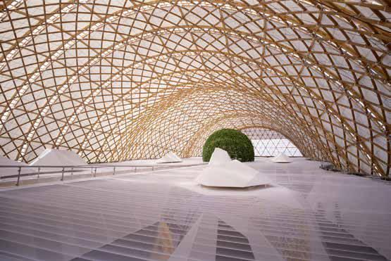 Shigeru Ban, japanischer Pavillon Expo Hannover