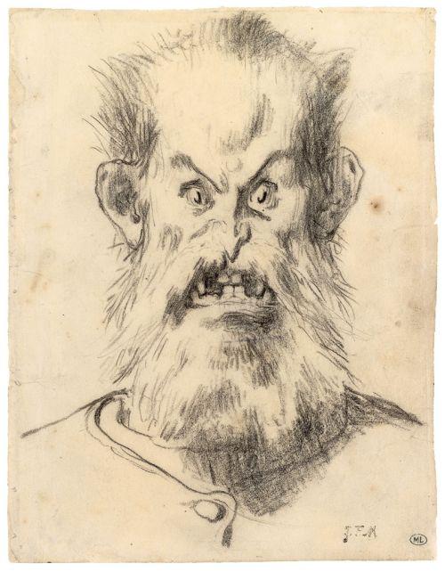 Jean-François Millet Der Kopf des Ogers