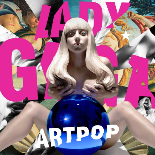 Jeff Koons Cover für Lady Gaga