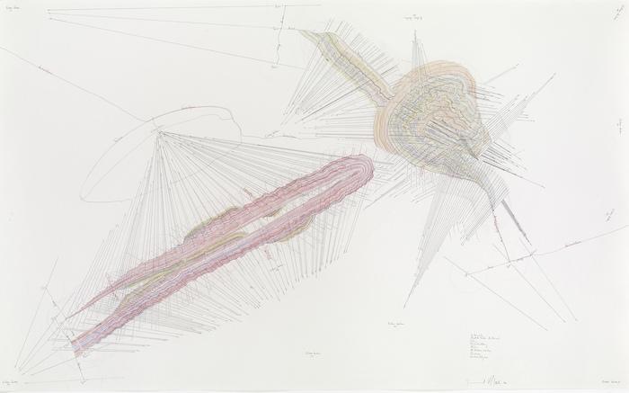 Jorinde Voigt Zeichnung - Collection Guerlain