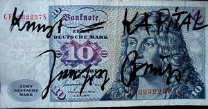Joseph Beuys 10DM Kunst ist Kapital
