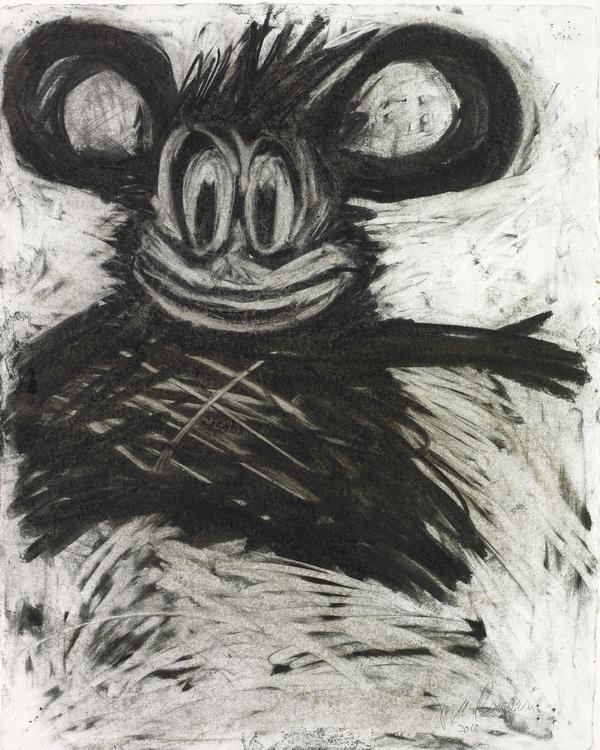 Joyce Pensato Zeichnung - Collection Guerlain
