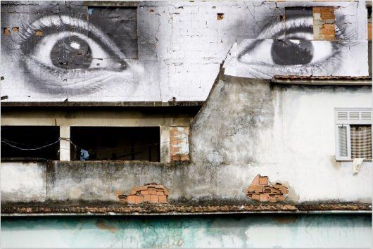 JR MoSA Screenshot Google Street Art Project