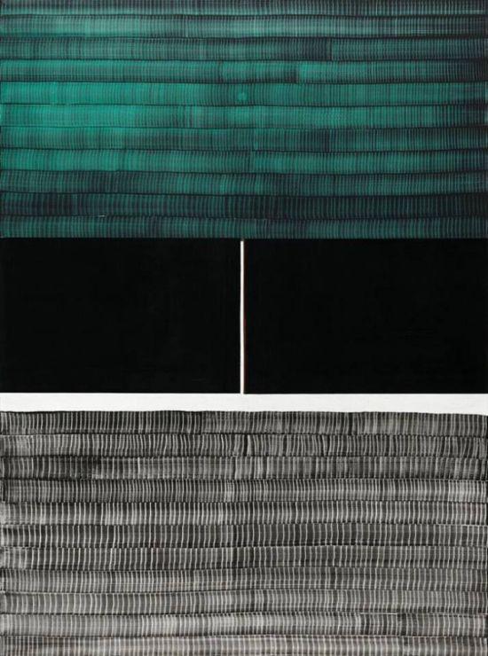 Juan Uslé Gallery Weekend 2015