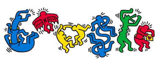 Keith Haring Doodle