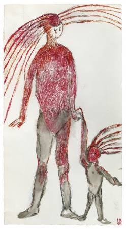 Louise Bourgeois Zeichnung