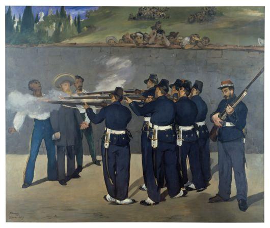 Edouard Manet, L'exécution de Maximilien
