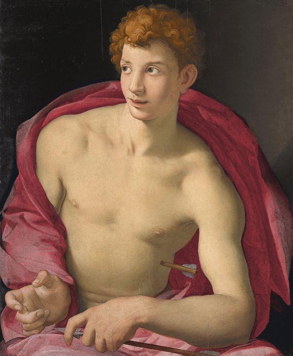 Maniera Ausstellung Agnolo Bronzino Heiliger Sebastian