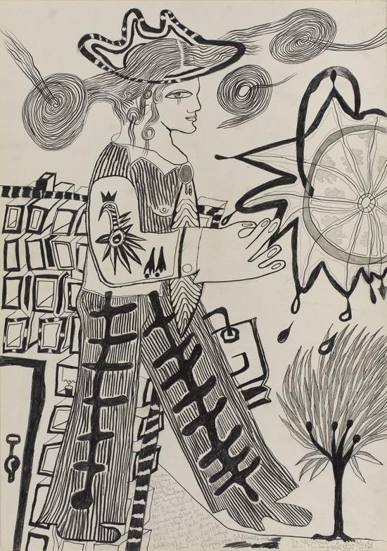 Martina Kögler Zeichnung