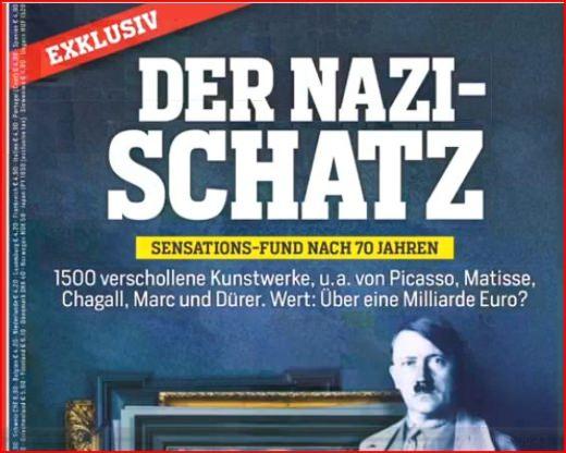 Nazi Kunstschatz München Schwabing