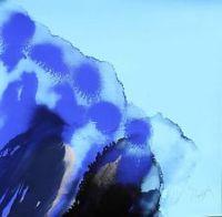 Otto Piene Siebdruck Hawai Sky