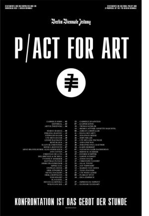 Pact for Art Biennale Zeitung