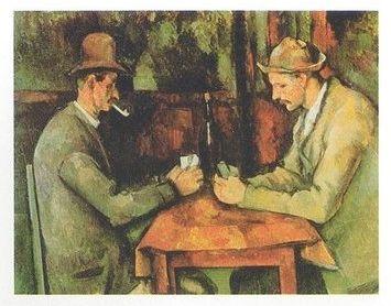 Paul Cézanne Die Kartenspieler