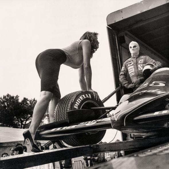 Pirelli Kalender Helmut Newton 1986