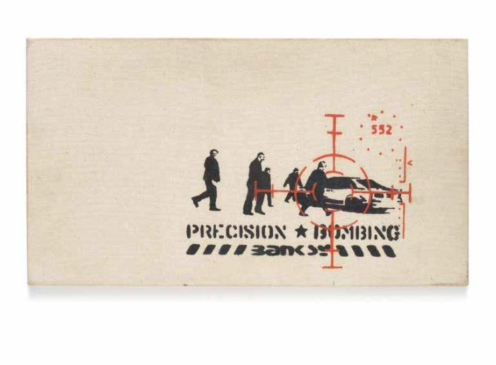 Banksy Precision Bombing