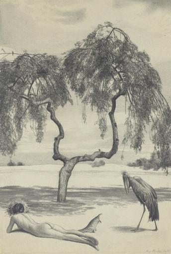 Richard Müller Zeichnung