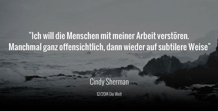 Cindy Sherman Welt