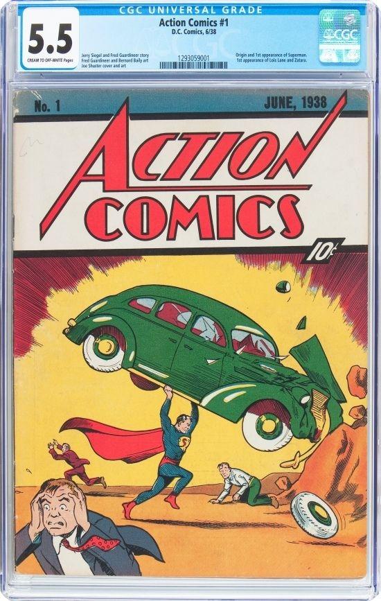 Superman Comic Erstausgabe