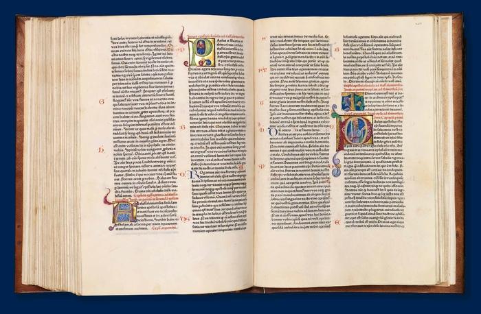 teuerste Bibel Gutenberg Presse