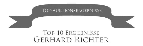 Liste der teuersten Gerhard Richter Bilder