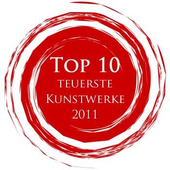 Kunstmarkt - die zehn teuersten Kunstwerke 2011